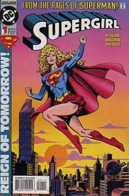 Cover of Supergirl (1994 Ltd) #1. One of 250,000 Vintage American Comics on sale from Krypton!