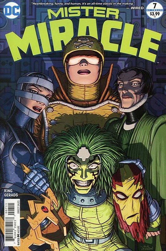 Cover of Mister Miracle (2017 Ltd) #7. One of 250,000 Vintage American Comics on sale from Krypton!