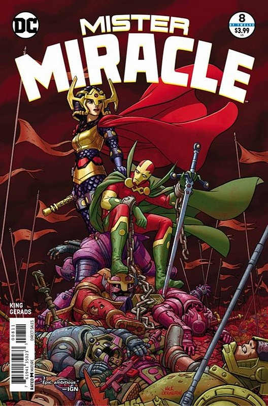 Cover of Mister Miracle (2017 Ltd) #8. One of 250,000 Vintage American Comics on sale from Krypton!