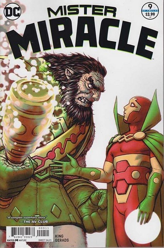 Cover of Mister Miracle (2017 Ltd) #9. One of 250,000 Vintage American Comics on sale from Krypton!
