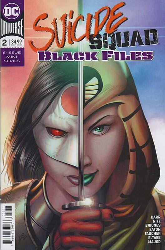 Cover of Suicide Squad: Black Files (2017 Ltd) #2. One of 250,000 Vintage American Comics on sale from Krypton!