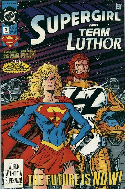 Cover of Supergirl & Team Luthor Special (1993 One Shot) #1. One of 250,000 Vintage American Comics on sale from Krypton!