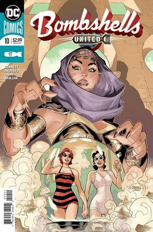 Cover of Bombshells United (Vol 1) #10. One of 250,000 Vintage American Comics on sale from Krypton!