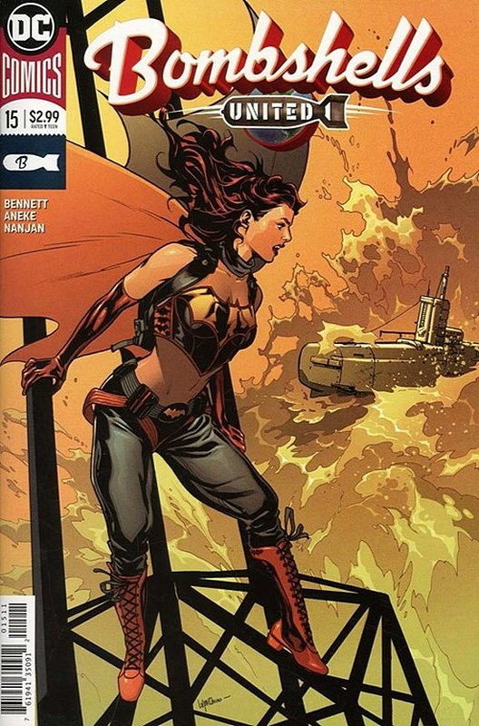 Cover of Bombshells United (Vol 1) #15. One of 250,000 Vintage American Comics on sale from Krypton!