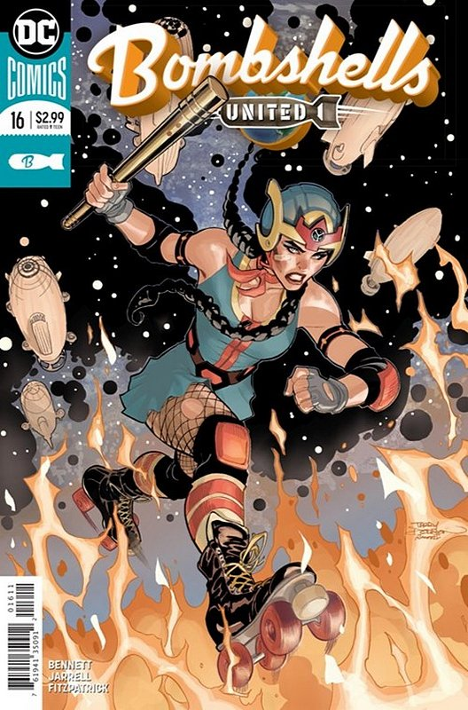 Cover of Bombshells United (Vol 1) #16. One of 250,000 Vintage American Comics on sale from Krypton!
