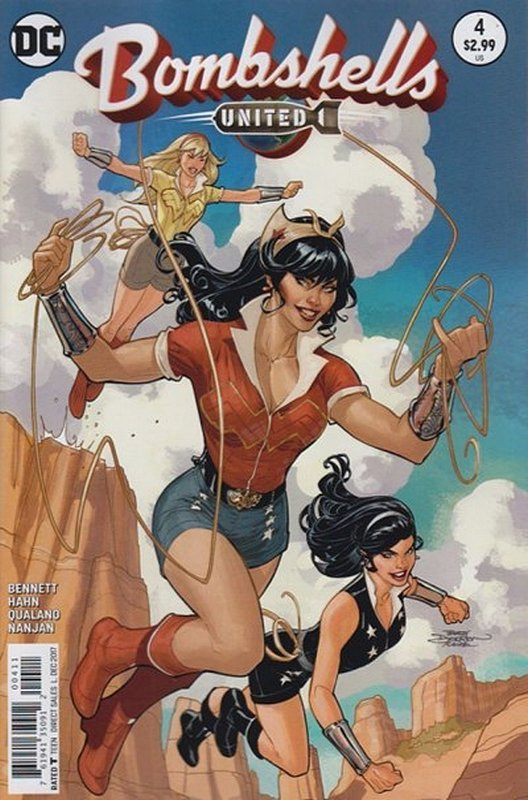 Cover of Bombshells United (Vol 1) #4. One of 250,000 Vintage American Comics on sale from Krypton!