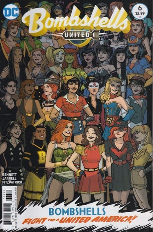 Cover of Bombshells United (Vol 1) #6. One of 250,000 Vintage American Comics on sale from Krypton!