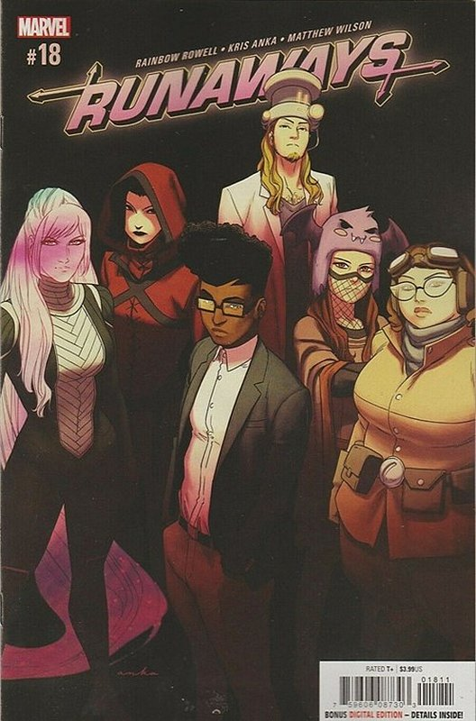 Cover of Runaways (Vol 5) #18. One of 250,000 Vintage American Comics on sale from Krypton!