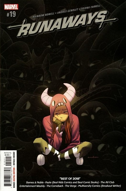 Cover of Runaways (Vol 5) #19. One of 250,000 Vintage American Comics on sale from Krypton!
