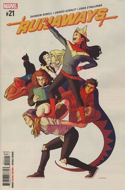 Cover of Runaways (Vol 5) #21. One of 250,000 Vintage American Comics on sale from Krypton!