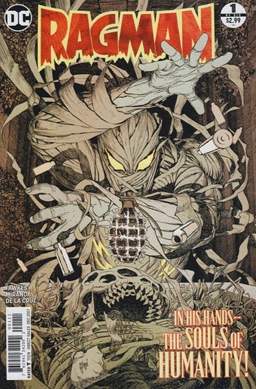 Cover of Ragman (2017 Ltd) #1. One of 250,000 Vintage American Comics on sale from Krypton!