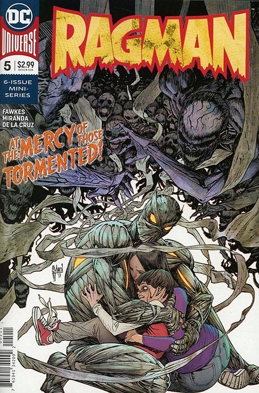 Cover of Ragman (2017 Ltd) #5. One of 250,000 Vintage American Comics on sale from Krypton!