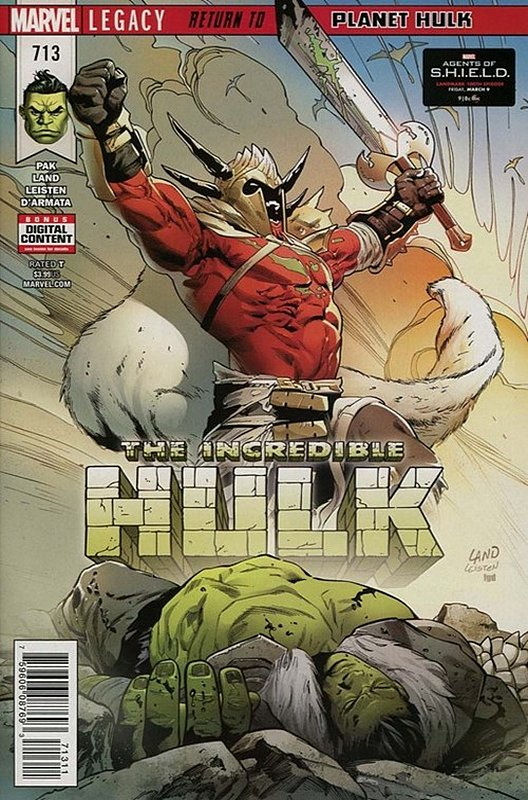 Cover of Incredible Hulk (Vol 6) #713. One of 250,000 Vintage American Comics on sale from Krypton!