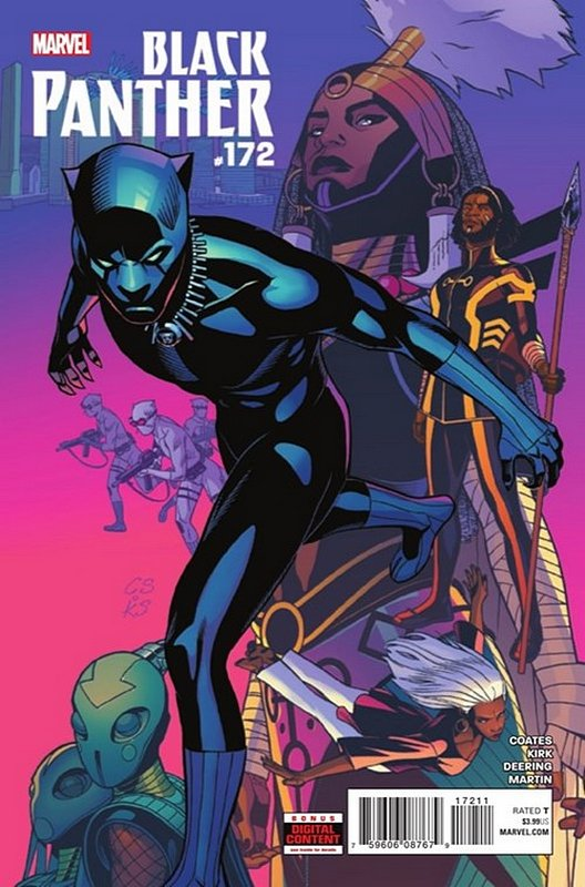 Cover of Black Panther (Vol 6) #172. One of 250,000 Vintage American Comics on sale from Krypton!