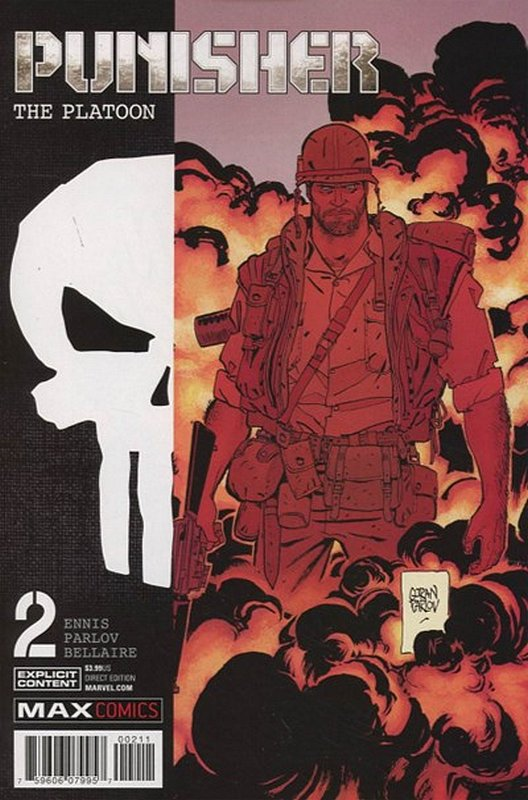 Cover of Punisher: Platoon (2017 Ltd) #2. One of 250,000 Vintage American Comics on sale from Krypton!