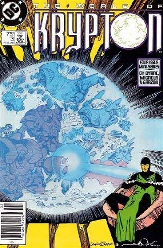 Cover of World of Krypton (1988 Ltd) #3. One of 250,000 Vintage American Comics on sale from Krypton!