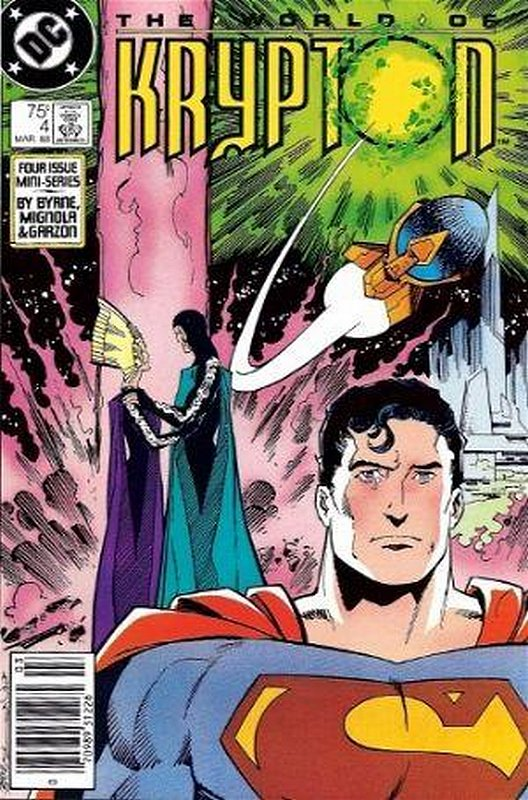 Cover of World of Krypton (1988 Ltd) #4. One of 250,000 Vintage American Comics on sale from Krypton!