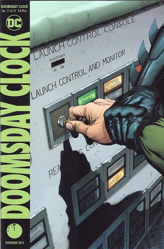 Cover of Doomsday Clock (2017 Ltd) #11. One of 250,000 Vintage American Comics on sale from Krypton!