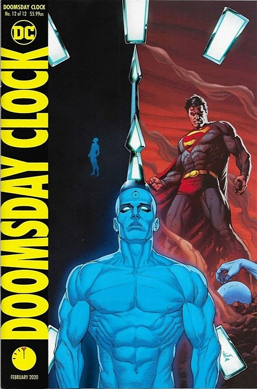 Cover of Doomsday Clock (2017 Ltd) #12. One of 250,000 Vintage American Comics on sale from Krypton!