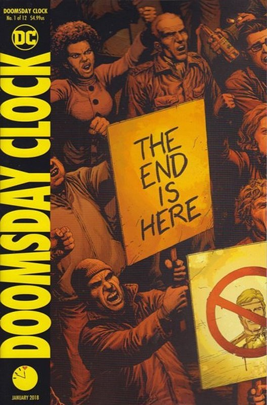 Cover of Doomsday Clock (2017 Ltd) #1. One of 250,000 Vintage American Comics on sale from Krypton!