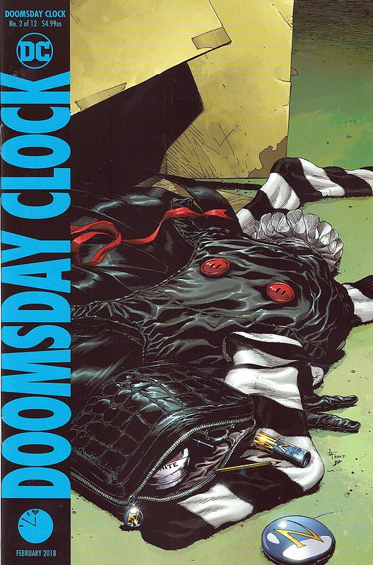 Cover of Doomsday Clock (2017 Ltd) #2. One of 250,000 Vintage American Comics on sale from Krypton!
