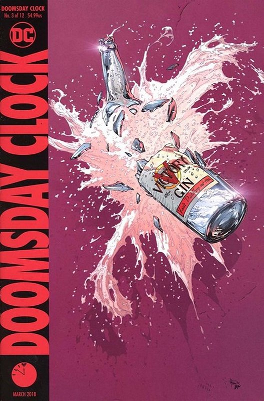 Cover of Doomsday Clock (2017 Ltd) #3. One of 250,000 Vintage American Comics on sale from Krypton!