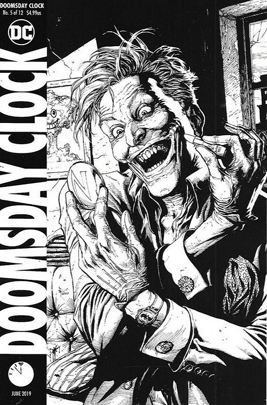 Cover of Doomsday Clock (2017 Ltd) #5. One of 250,000 Vintage American Comics on sale from Krypton!