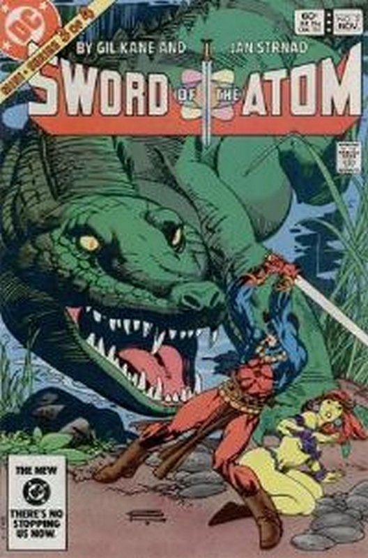 Cover of Atom (1983 Ltd) Sword of the #3. One of 250,000 Vintage American Comics on sale from Krypton!