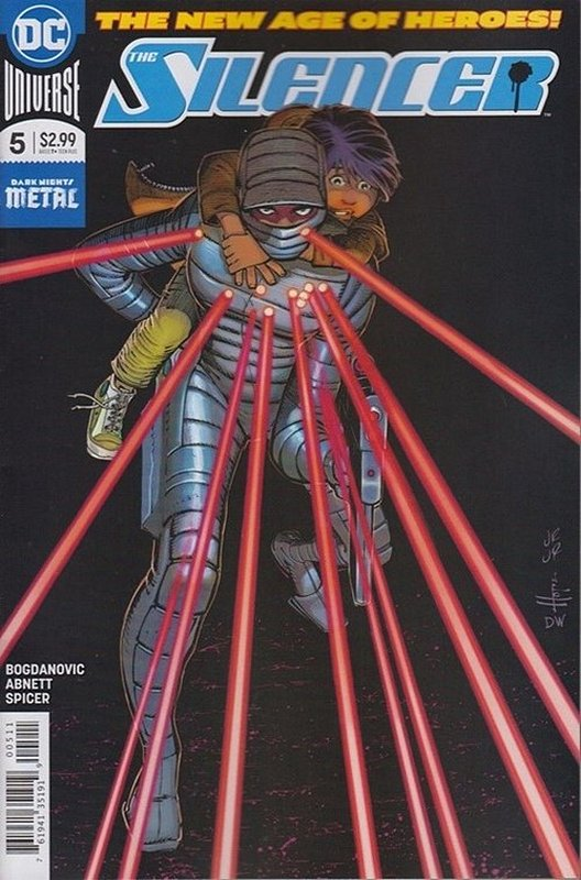 Cover of Silencer (Vol 1) #5. One of 250,000 Vintage American Comics on sale from Krypton!