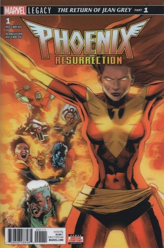 Cover of Phoenix Resurrection: Return Jean Grey (2017 Ltd) #1. One of 250,000 Vintage American Comics on sale from Krypton!