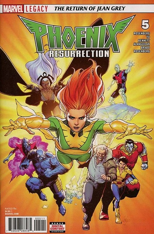 Cover of Phoenix Resurrection: Return Jean Grey (2017 Ltd) #5. One of 250,000 Vintage American Comics on sale from Krypton!