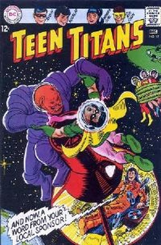 Cover of Teen Titans (Vol 1) #12. One of 250,000 Vintage American Comics on sale from Krypton!