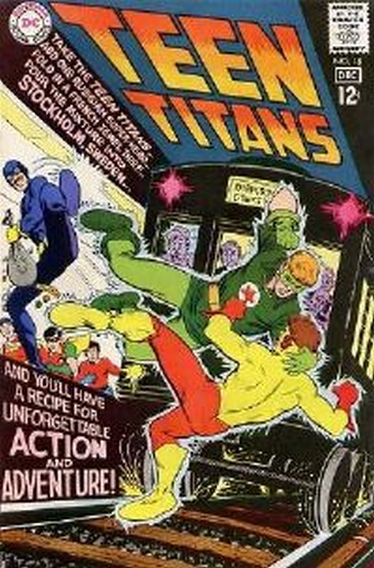 Cover of Teen Titans (Vol 1) #18. One of 250,000 Vintage American Comics on sale from Krypton!