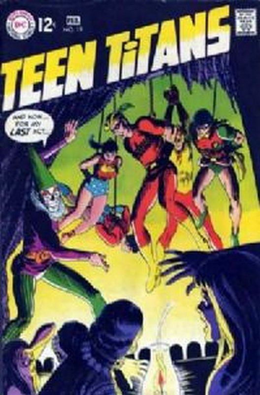 Cover of Teen Titans (Vol 1) #19. One of 250,000 Vintage American Comics on sale from Krypton!