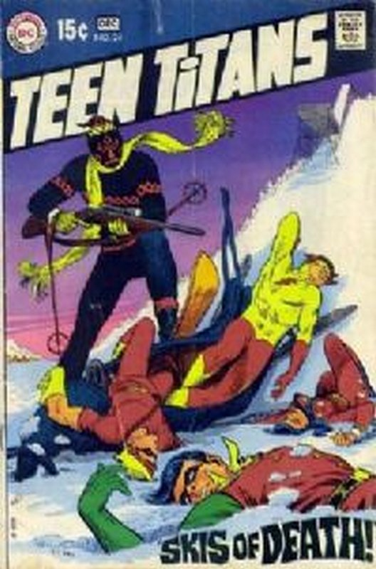 Cover of Teen Titans (Vol 1) #24. One of 250,000 Vintage American Comics on sale from Krypton!