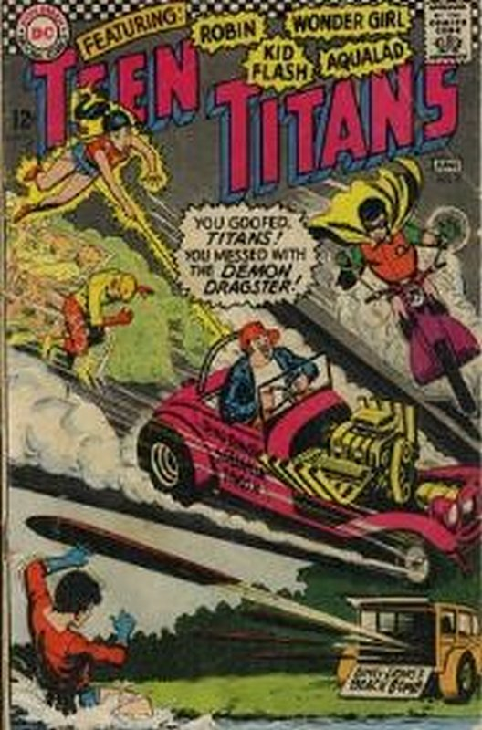Cover of Teen Titans (Vol 1) #3. One of 250,000 Vintage American Comics on sale from Krypton!