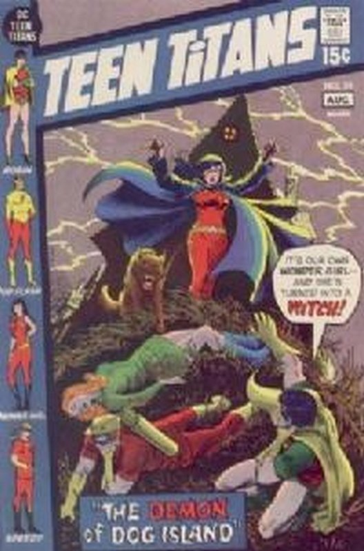 Cover of Teen Titans (Vol 1) #34. One of 250,000 Vintage American Comics on sale from Krypton!
