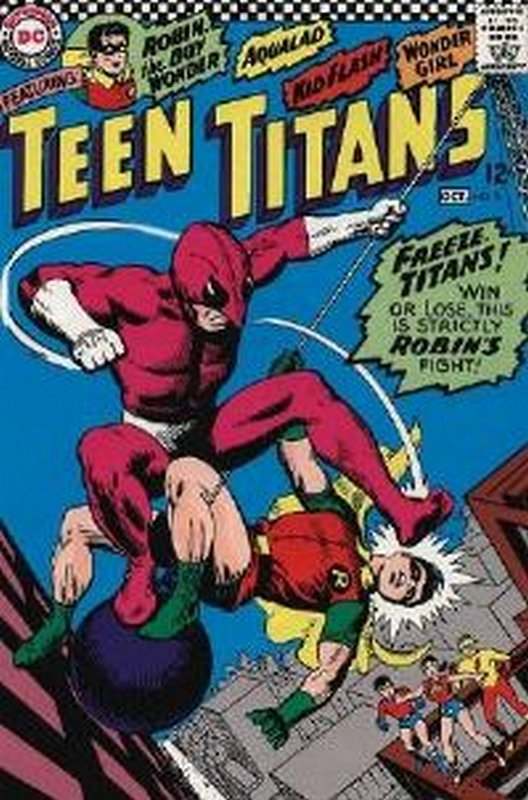 Cover of Teen Titans (Vol 1) #5. One of 250,000 Vintage American Comics on sale from Krypton!