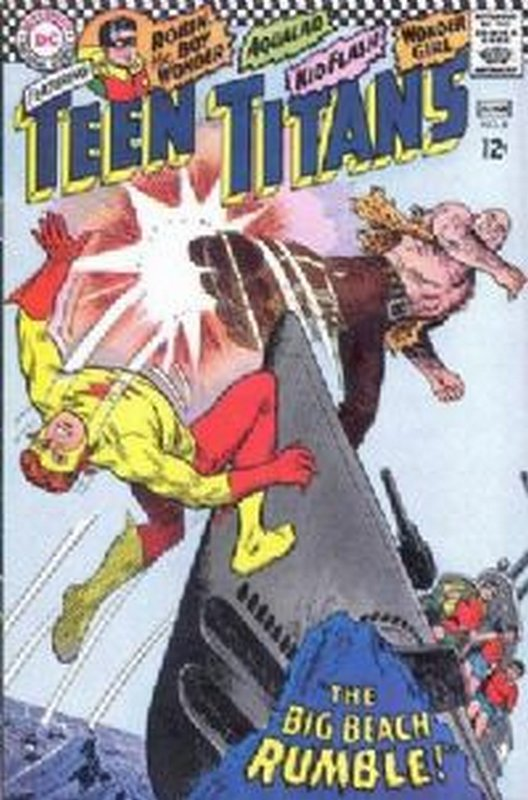 Cover of Teen Titans (Vol 1) #9. One of 250,000 Vintage American Comics on sale from Krypton!