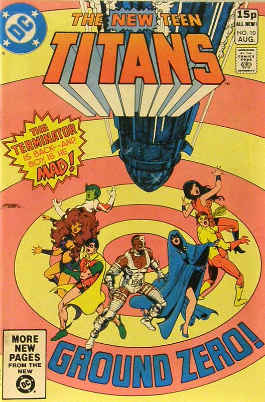 Cover of New Teen Titans (Vol 1) (Tales of from #41) #10. One of 250,000 Vintage American Comics on sale from Krypton!