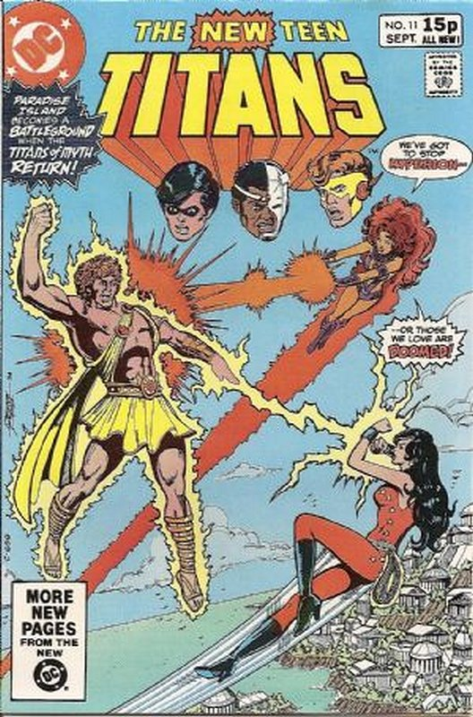 Cover of New Teen Titans (Vol 1) (Tales of from #41) #11. One of 250,000 Vintage American Comics on sale from Krypton!