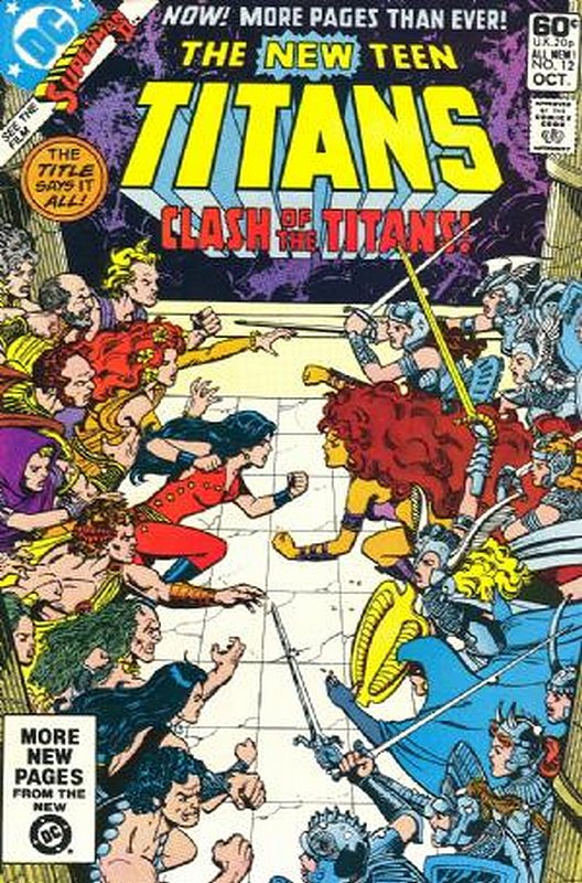Cover of New Teen Titans (Vol 1) (Tales of from #41) #12. One of 250,000 Vintage American Comics on sale from Krypton!