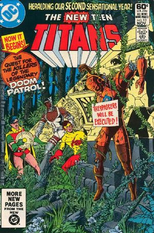 Cover of New Teen Titans (Vol 1) (Tales of from #41) #13. One of 250,000 Vintage American Comics on sale from Krypton!