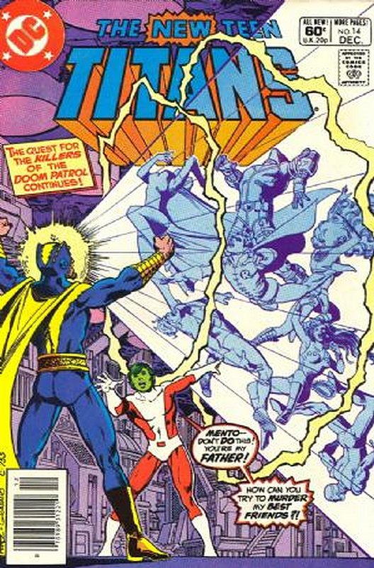 Cover of New Teen Titans (Vol 1) (Tales of from #41) #14. One of 250,000 Vintage American Comics on sale from Krypton!