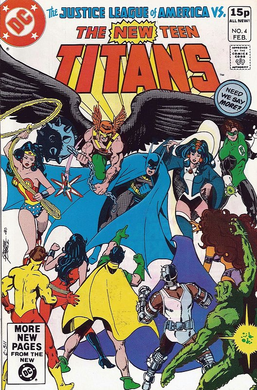 Cover of New Teen Titans (Vol 1) (Tales of from #41) #4. One of 250,000 Vintage American Comics on sale from Krypton!