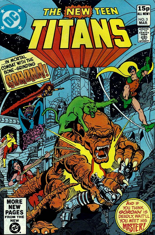 Cover of New Teen Titans (Vol 1) (Tales of from #41) #5. One of 250,000 Vintage American Comics on sale from Krypton!