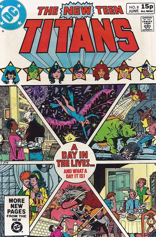 Cover of New Teen Titans (Vol 1) (Tales of from #41) #8. One of 250,000 Vintage American Comics on sale from Krypton!