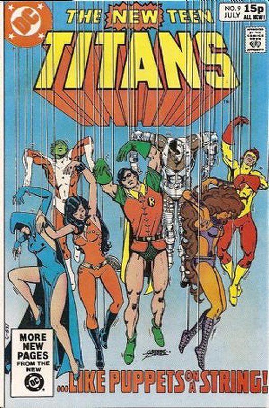 Cover of New Teen Titans (Vol 1) (Tales of from #41) #9. One of 250,000 Vintage American Comics on sale from Krypton!