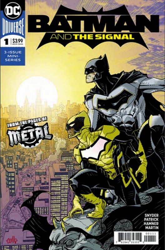 Cover of Batman & The Signal (2017 Ltd) #1. One of 250,000 Vintage American Comics on sale from Krypton!