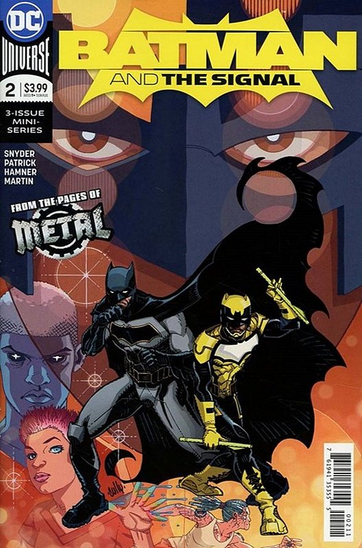 Cover of Batman & The Signal (2017 Ltd) #2. One of 250,000 Vintage American Comics on sale from Krypton!